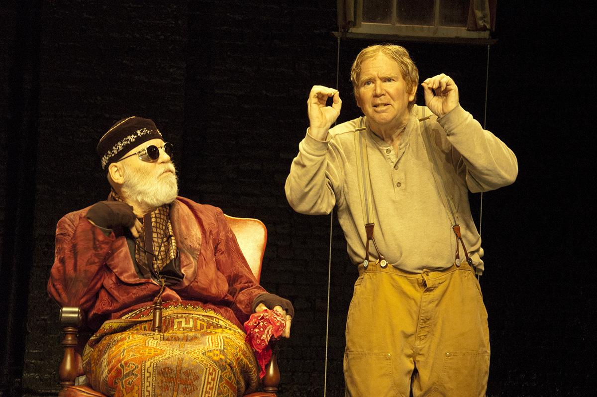 Actors Chris Jones and Dan Moran