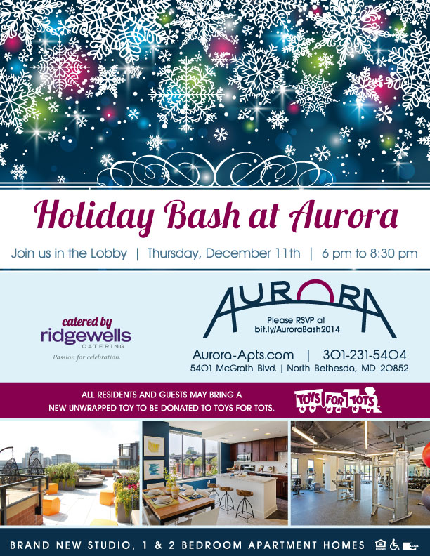 Aurora Holiday bash
