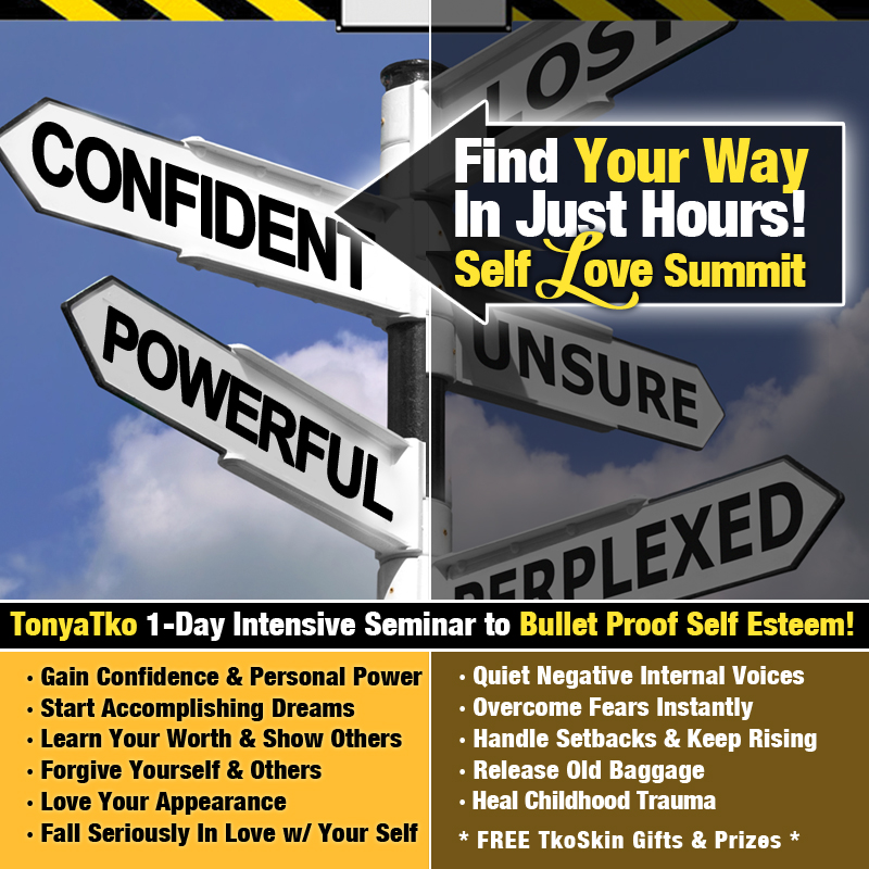 Self Love Summit Find Your Way Flyer