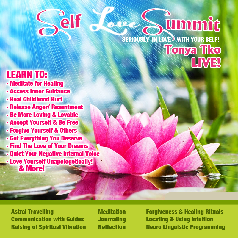 Self Love Summit Lotus Flyer