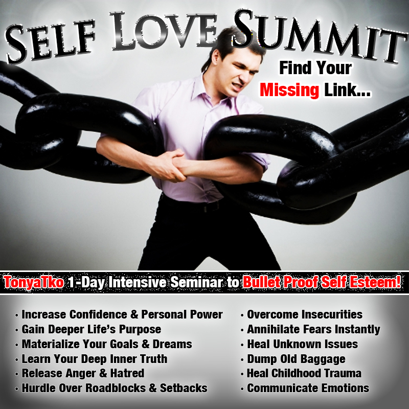 Self Love Summit Missing Link Flyer