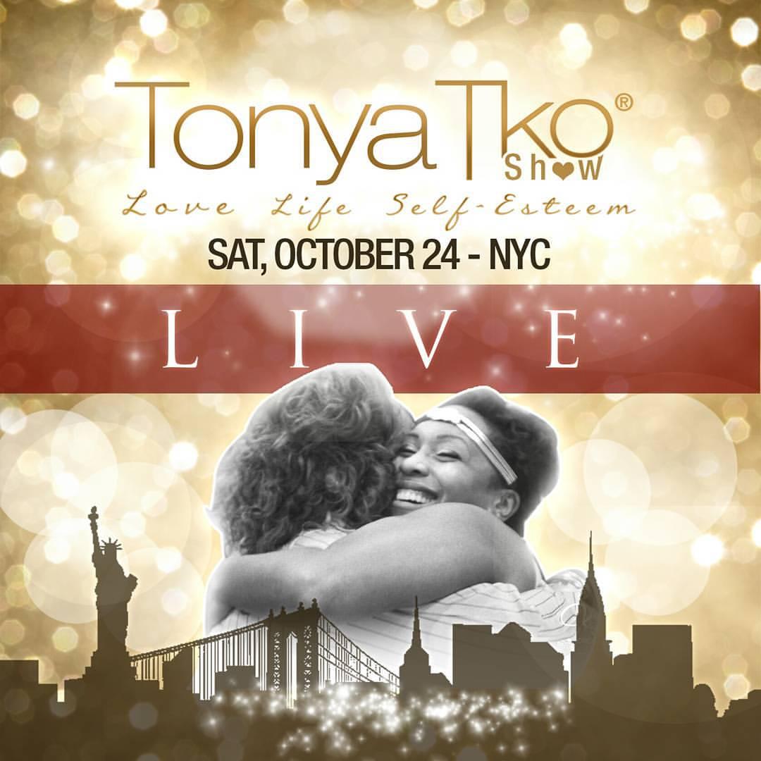 Tonya Tko Live Flyer