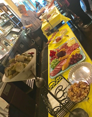 Vini Wine Bar Buffet