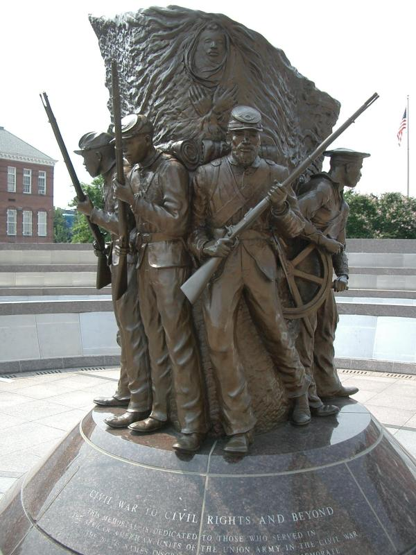 African American Civil War Memorial (Photo Credit:http://aacivilwartravels.blogspot.com/)