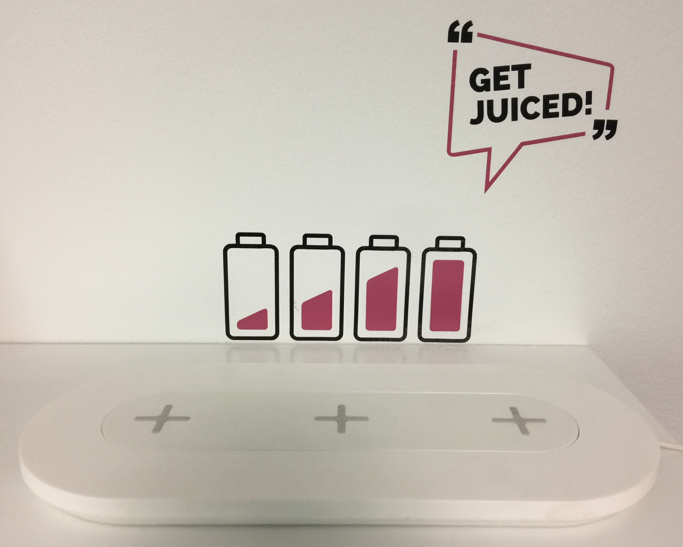 Batteries Charging -Get Juiced!