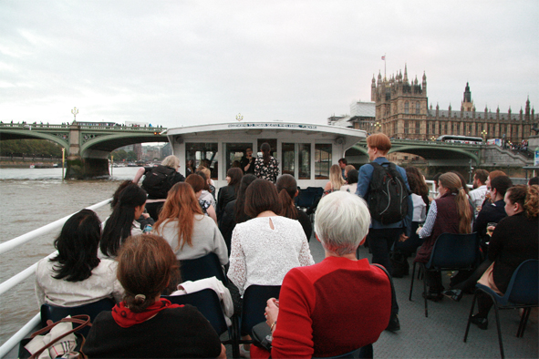 NAWIC architectural boat ride