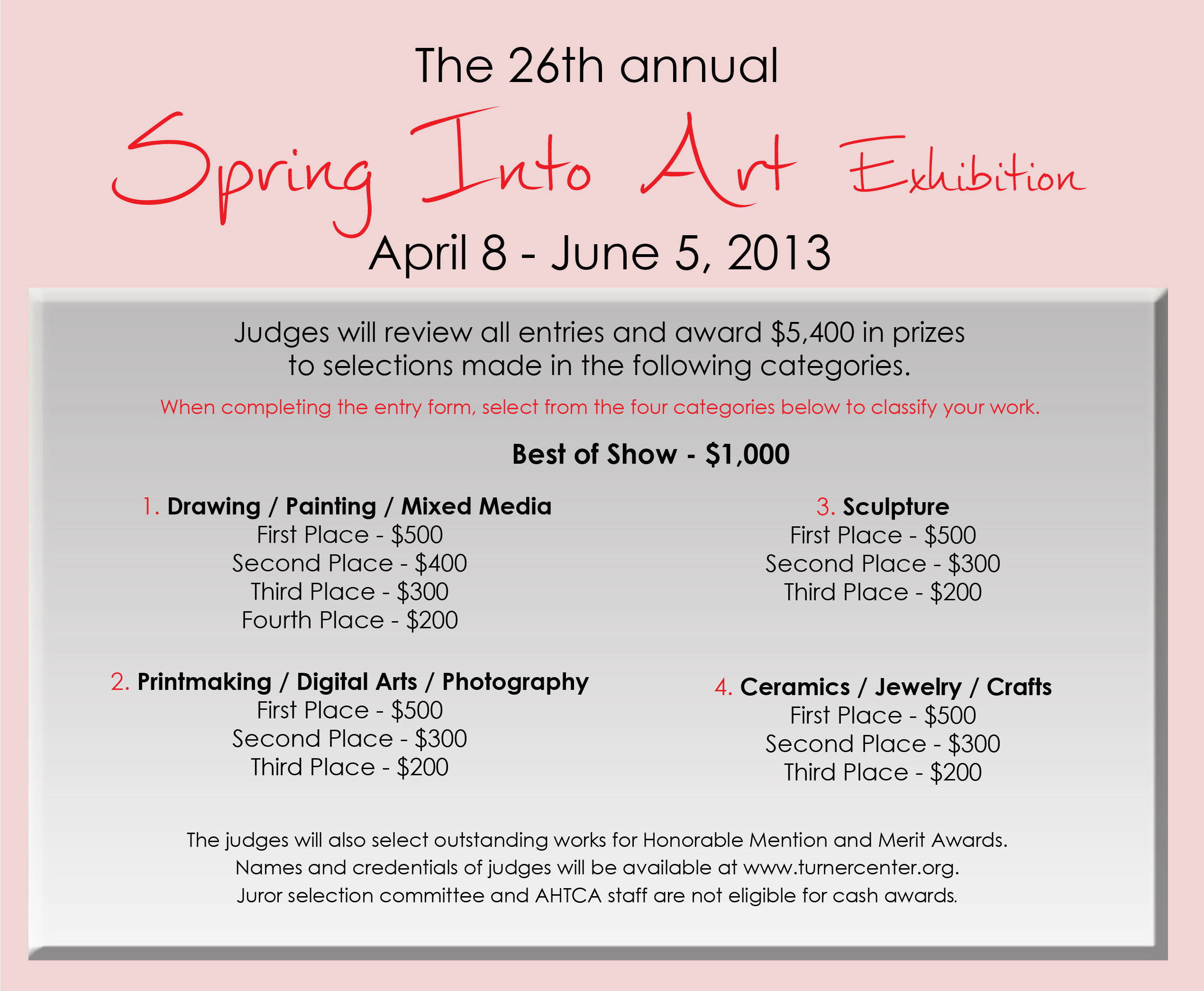 2013 Spring into Art Awards