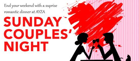 Romantic Sunday Couples' Night FREE Chocolates at Ayza Wine and...