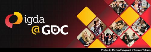 IGDA @ GDC 2015 Banner