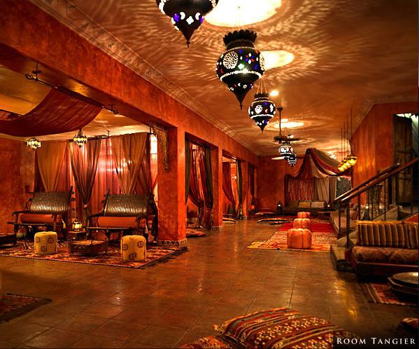 Figueroa Hotel - Tangier Room