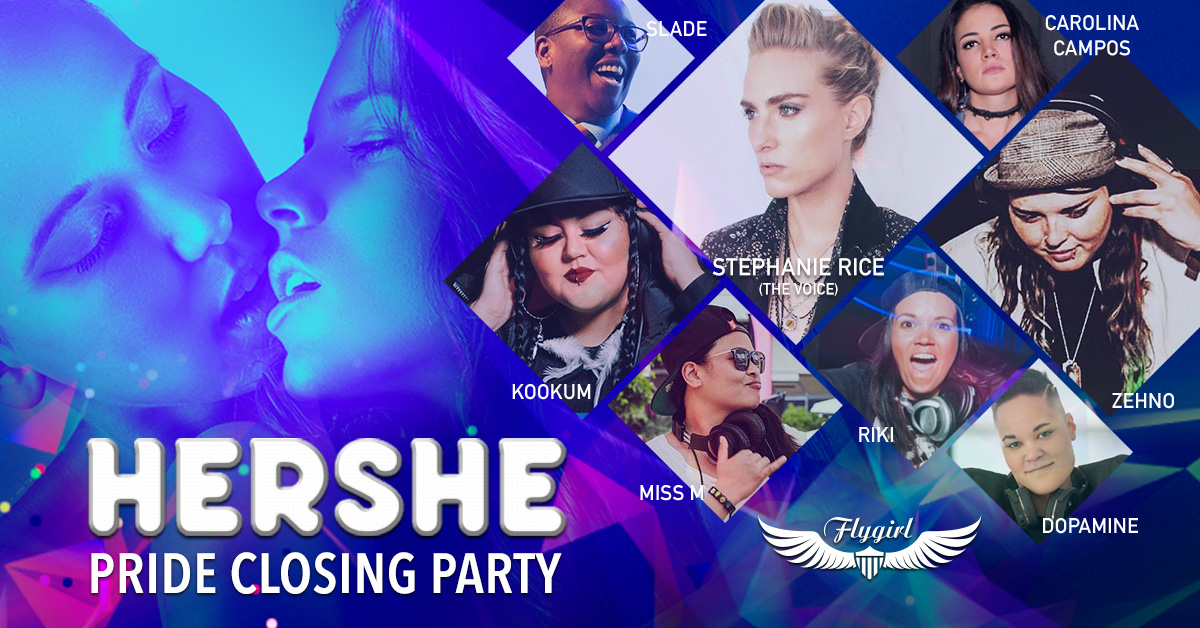 Pride Hershe Bar Vancouver BC Canada Best Lesbian Party