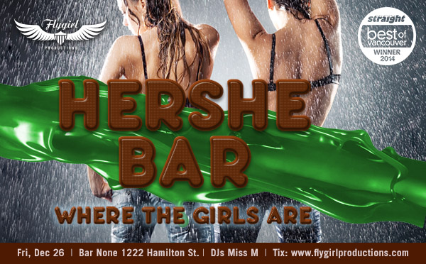 Hershe Bar Voted Best Lesbian Parties Vancouver BC