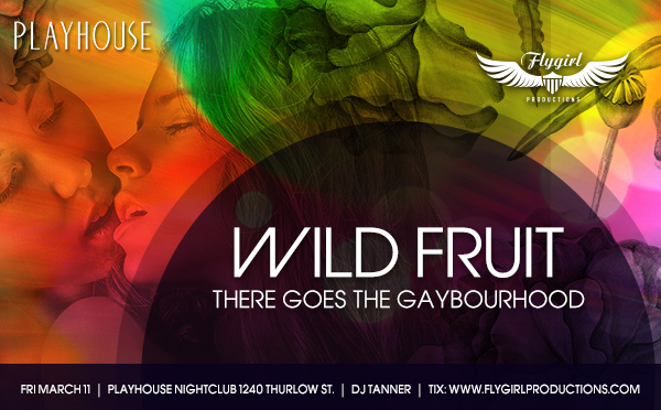 Flygirl Wild Fruit Hershe Bar Best Lesbian Parties Vancouver BC Canada Davie Village