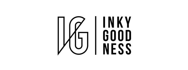 Inkygoodness logo 2020