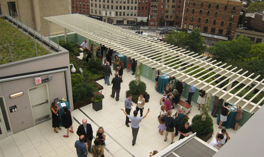Rooftop Garden at BAM Fisher