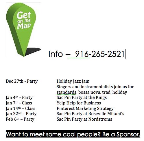 Sacramento Social Media Events January 2014