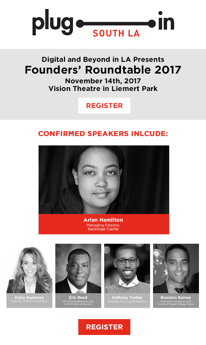 Plug In South LA Founders' Roundtable 2017