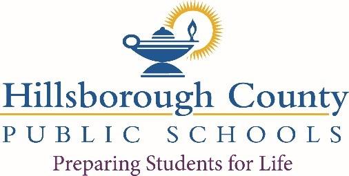 Hillsborough County School District logo
