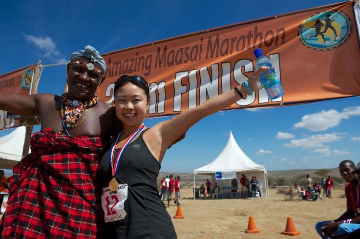 Amazing Maasai Marathon Kenya, 2014