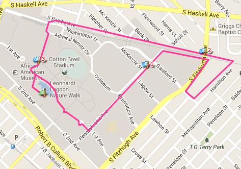 Slumber Run Route