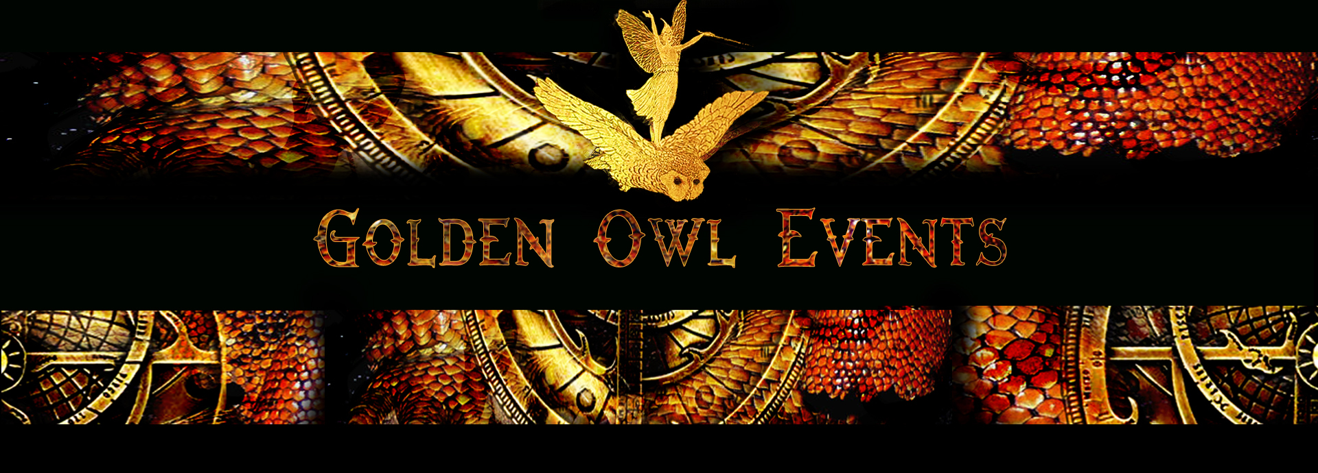 Golden Owl Events logo