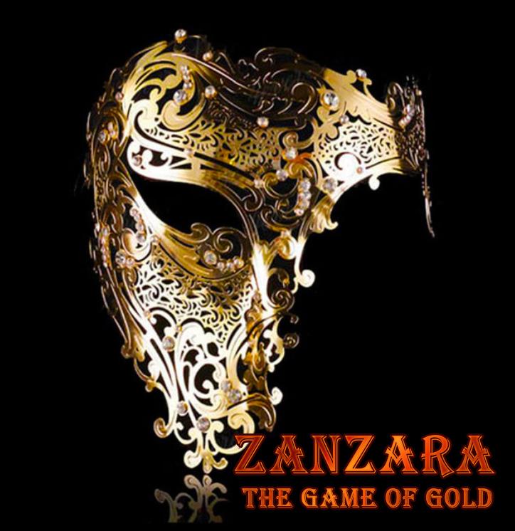 Zanzara - The Golden Masquerade Mask Prize