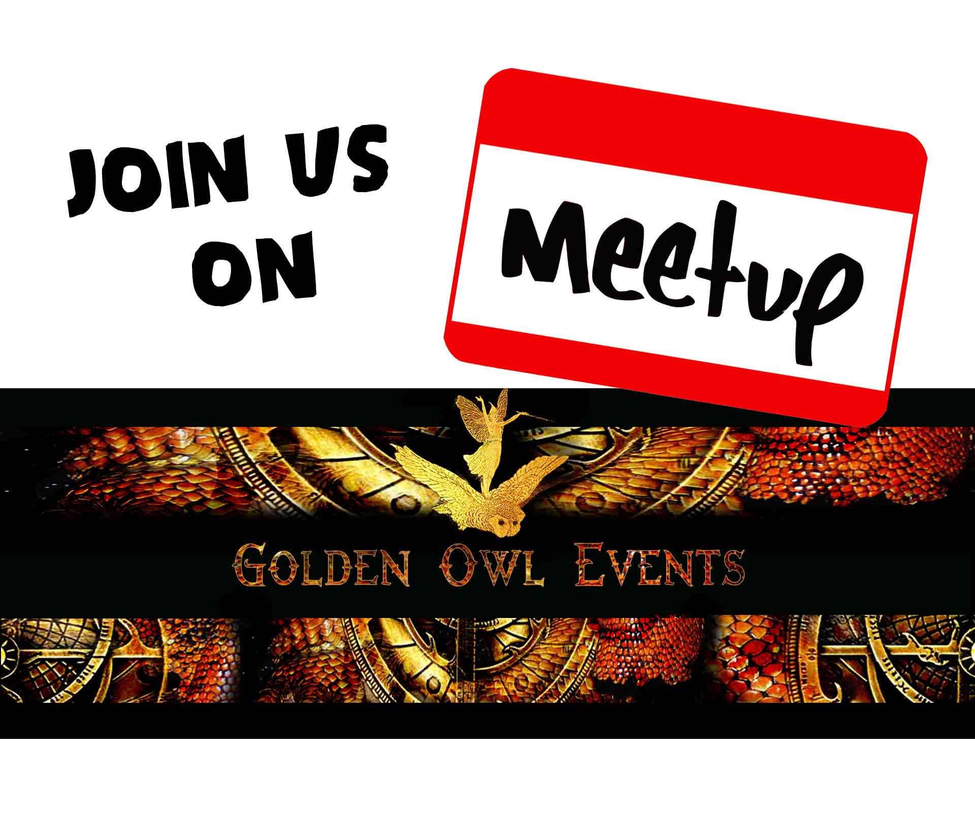 Join Golden Owl Events on Meet Up - It's Free