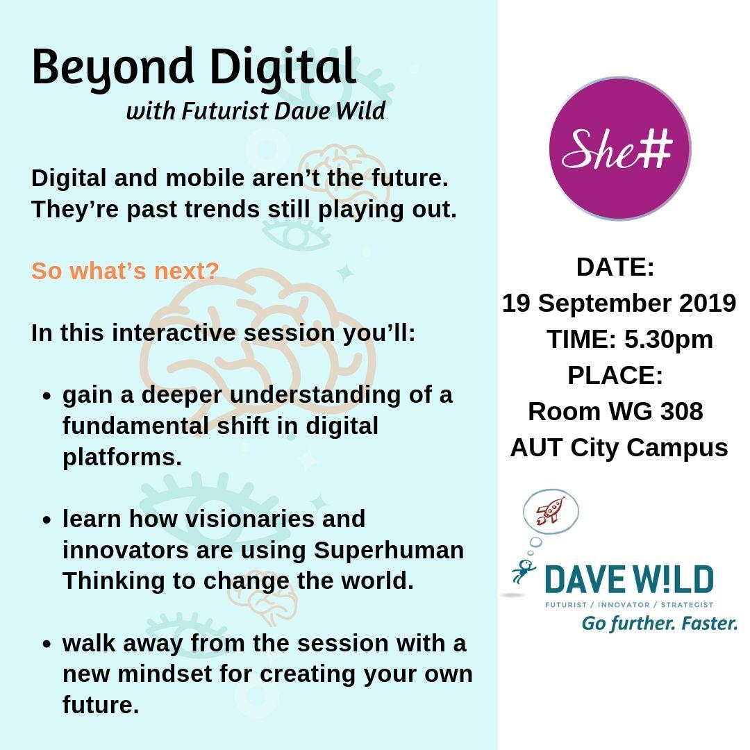 She# @ AUT - Beyond Digital