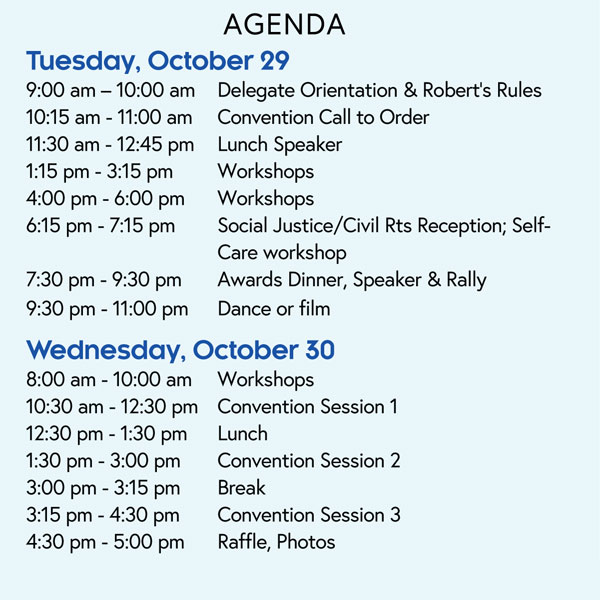 2019 NYSNA Convention - Agenda