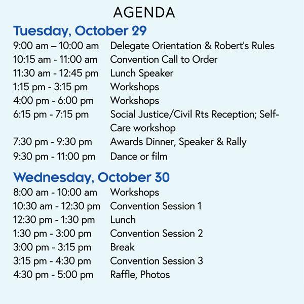 2019 NYSNA Convention - Delegate Registration Agenda