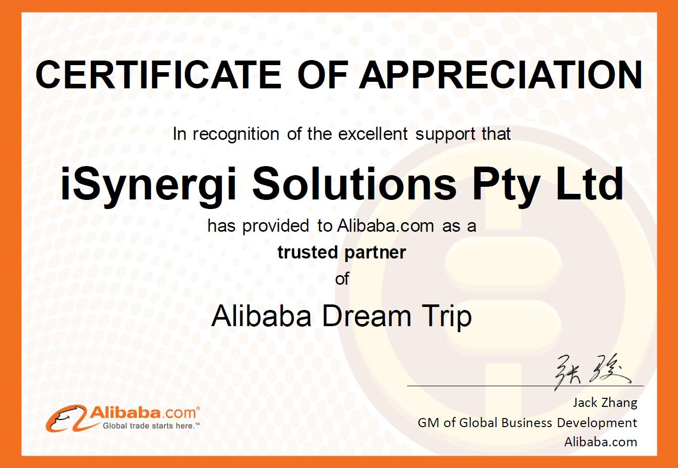 iSynergi Dream Trip Partner