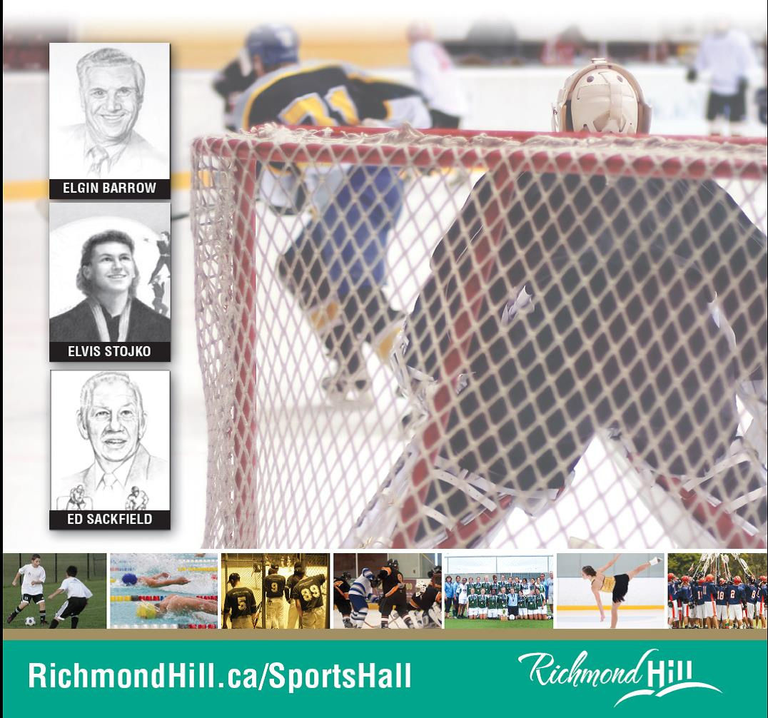 Richmond Hill Sports Hall of Fame Inductees