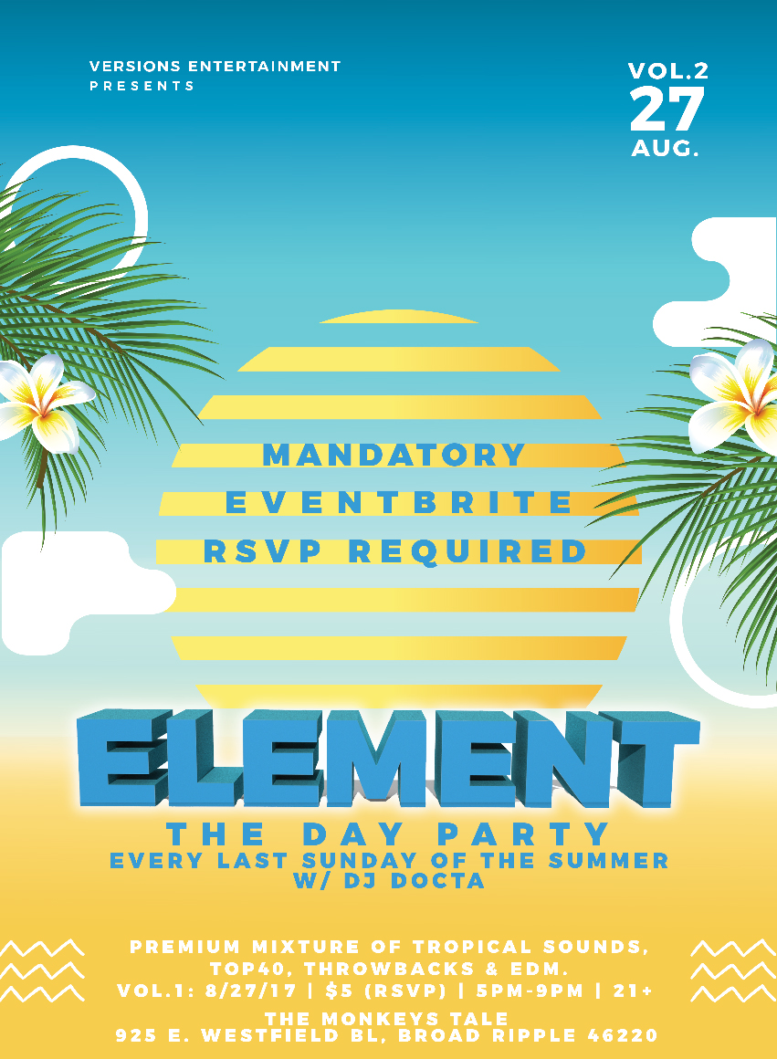 ELEMENT: The Day Party Tickets, Multiple Dates | Eventbrite