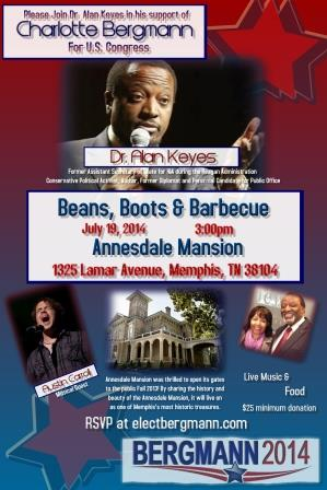 Beans, Boots and BBQ Picnic with Ambassador Alan Keyes