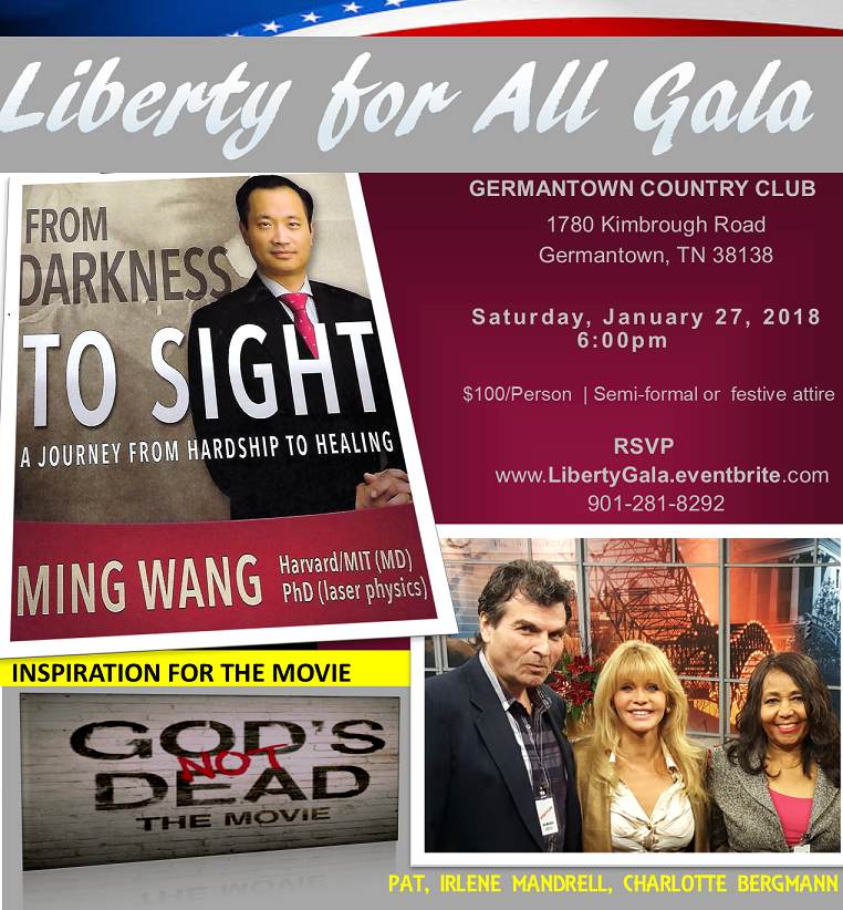 Invitation to the Liberty for All Gala