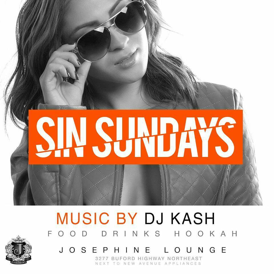 SIN SUNDAYS FLYER