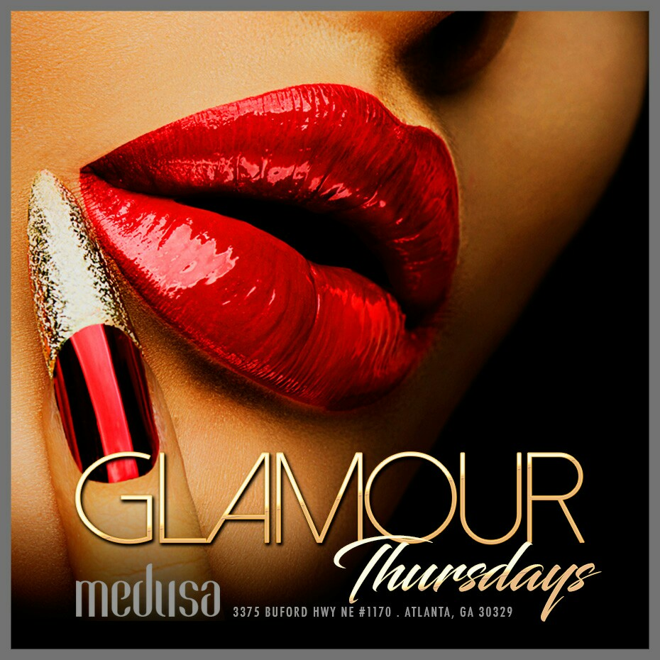 Glamour Thursdays Flyer