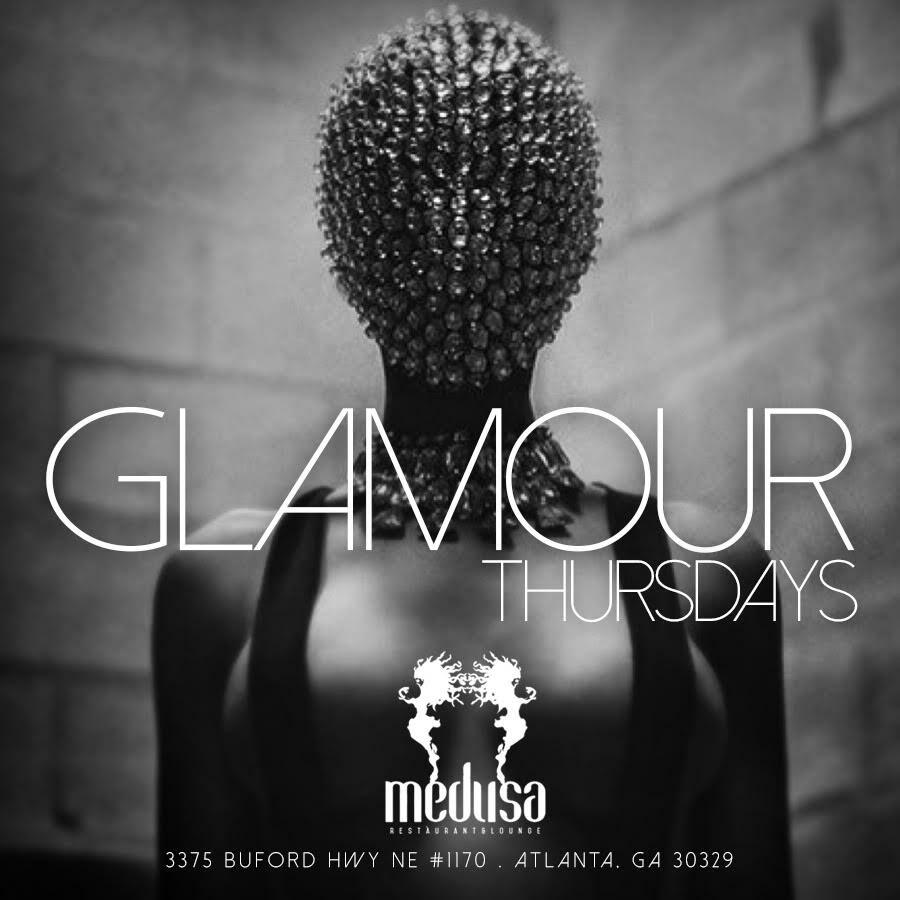 Glamour Thursdays Flyer