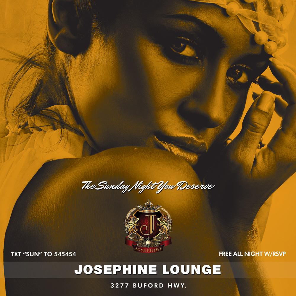 Josephine Lounge Flyer #2
