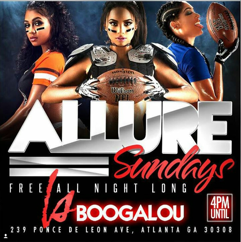 Allure Sunday Day Party NFL Game