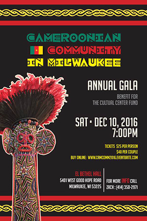 Cameroonian Community in Milwaukee Annual Gala