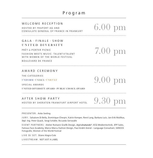 Frankfurt Event Programm September 2014 Fashion Mode