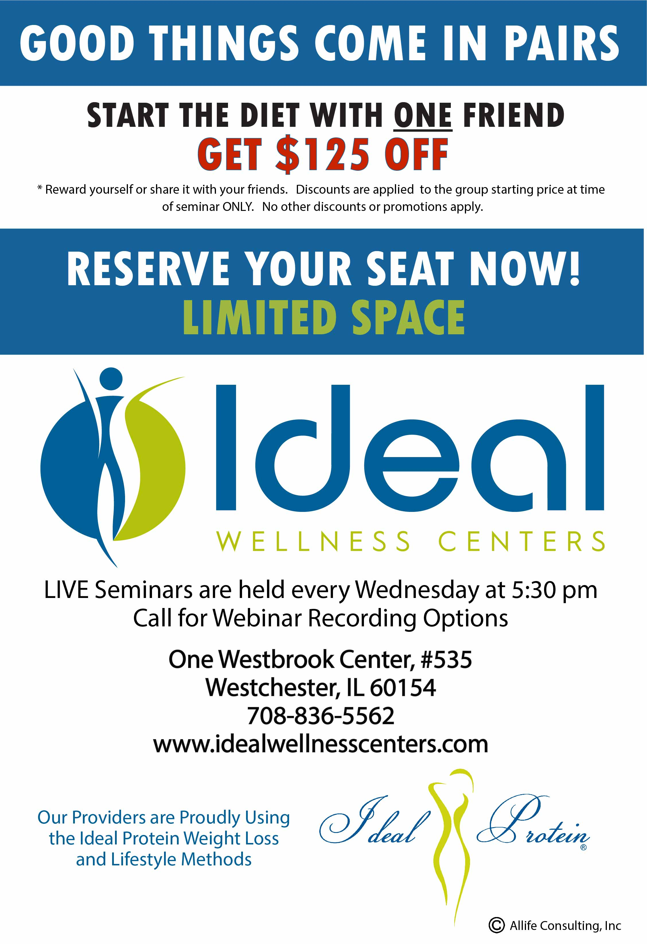 Ideal Wellness Centers / Ideal Protein