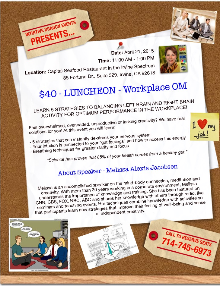 Worplace OM Luncheon Flyer