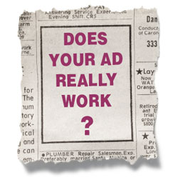 Does your ad really work? Join us to find out.
