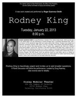 Roger Guenveur Smith's Rodney King