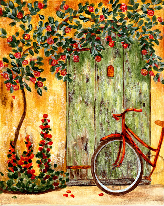 Red bike tickets sun 12 04 2015 at 12 00 pm eventbrite for Bicycle painting near me