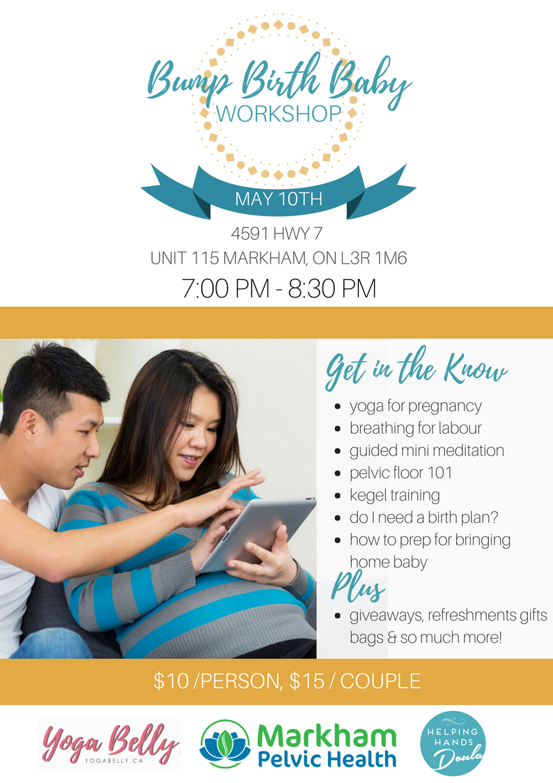 Bump, Birth & Baby Workshop