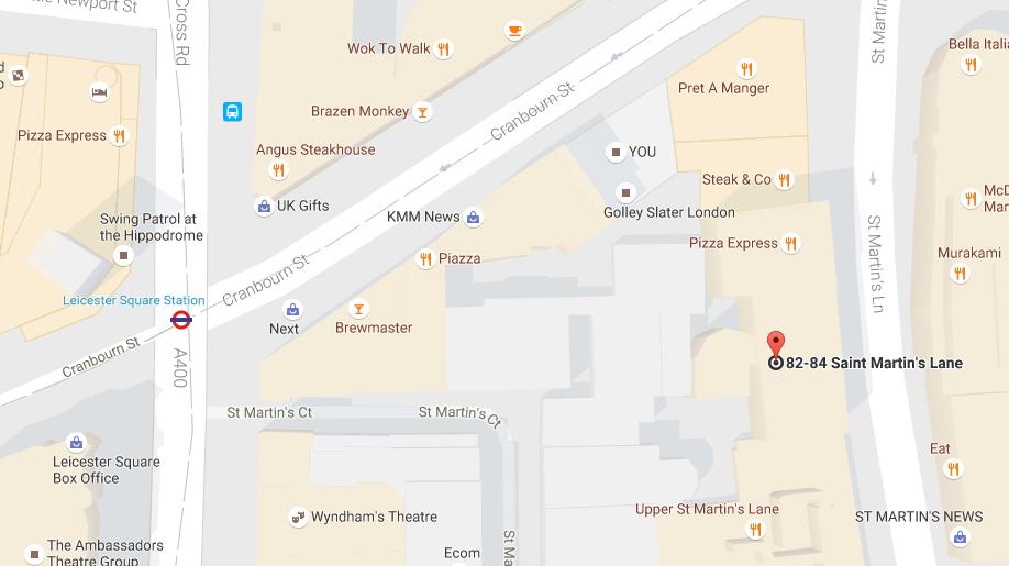Map of Venue