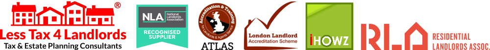 Less Tax 4 Landlords logo plus partners